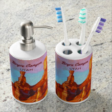 The Sentinel - Bryce Canyon National Park Soap Dispenser & Toothbrush Holder