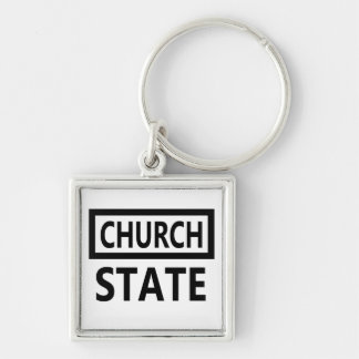 The Separation of Church and State - 1st Amendment Keychain