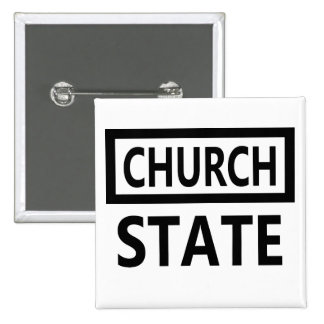 The Separation of Church and State - 1st Amendment Pinback Button