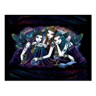 The Seraphina Celestial Fairy Sisters Postcard