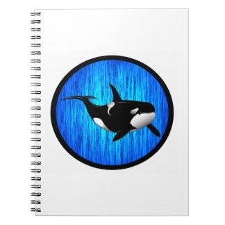 THE SERENE ORCA NOTE BOOKS