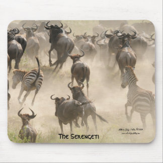 The Serengeti Mousepad