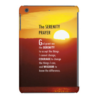 The Serenity Prayer 1 iPad Mini Retina Cases