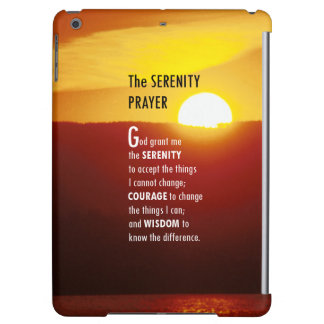 The Serenity Prayer 1 iPad Air Cases