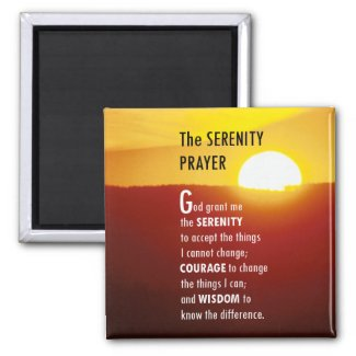 The Serenity Prayer 1 Magnet