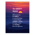 The Serenity Prayer 2 Postcard