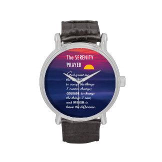 The Serenity Prayer 2 Wristwatch
