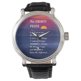 The Serenity Prayer 2 Wristwatches