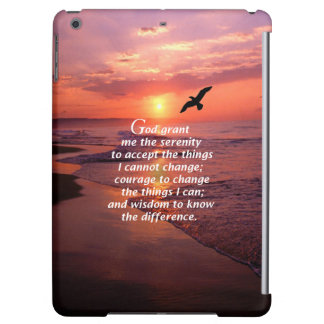 The Serenity Prayer 3 iPad Air Covers