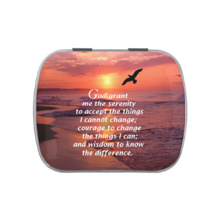 The Serenity Prayer 3 Jelly Belly Candy Tin