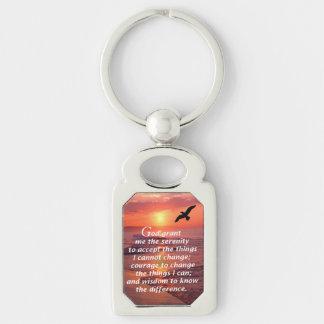 The Serenity Prayer 3 Keychain