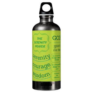 The Serenity Prayer Aluminum Water Bottle