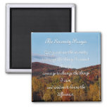 The Serenity Prayer autumn magnet
