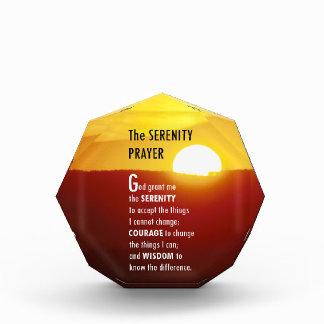 The Serenity Prayer Award