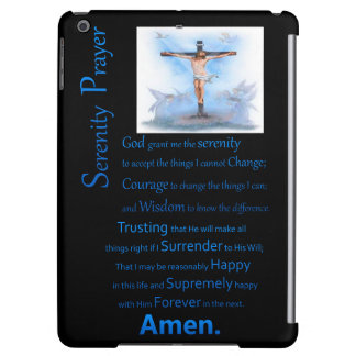 The Serenity Prayer B.C Cover For iPad Air