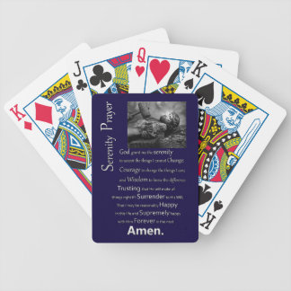 The Serenity Prayer Bicycle Playing Cards