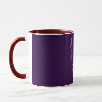 The Serenity Prayer BoardWay Mug