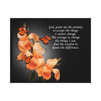 """The serenity prayer"" Canvas Print"