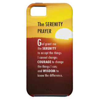 The Serenity Prayer iPhone 5 Covers
