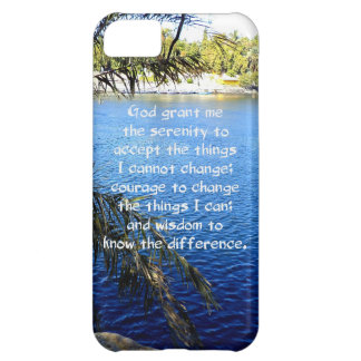 The Serenity Prayer iPhone 5C Covers