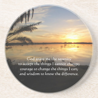 The Serenity Prayer Drink Coaster