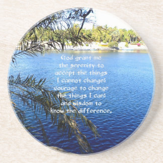 The Serenity Prayer Beverage Coasters