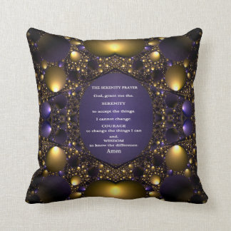THE SERENITY PRAYER Decorative Throw Pillow