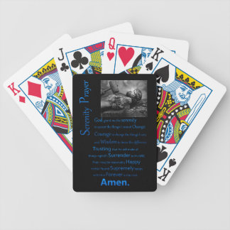 The Serenity Prayer Hammer Bicycle Playing Cards