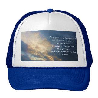 The Serenity Prayer Trucker Hats