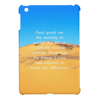 The Serenity Prayer Cover For The iPad Mini