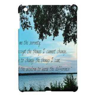 The Serenity Prayer iPad Mini Cover