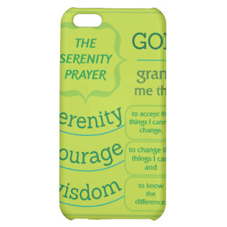 The Serenity Prayer iPhone 5C Cover