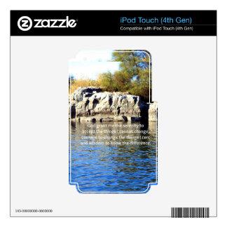 The Serenity Prayer iPod Touch 4G Skin