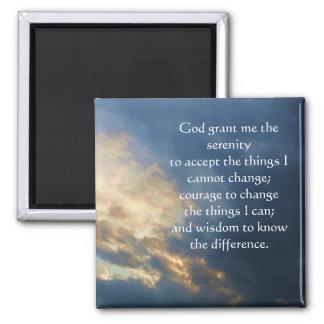 The Serenity Prayer Refrigerator Magnets