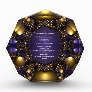 THE SERENITY PRAYER.multiple products selected Acrylic Award