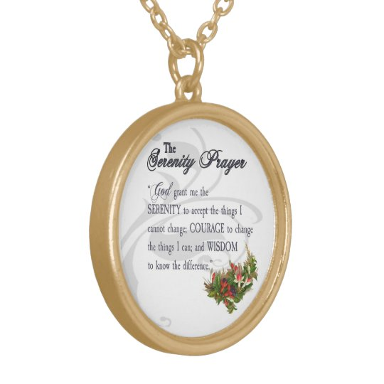The Serenity Prayer Necklace