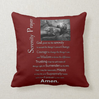 The Serenity Prayer Pillow