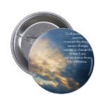 The Serenity Prayer Pinback Button