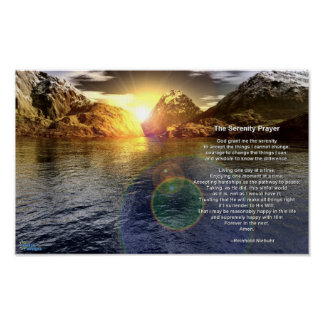 The Serenity Prayer Print