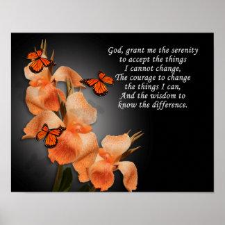 """The Serenity Prayer"" Poster"