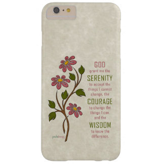 The Serenity Prayer (Recovery Quote) Barely There iPhone 6 Plus Case