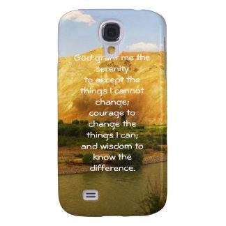 The Serenity Prayer Samsung Galaxy S4 Case