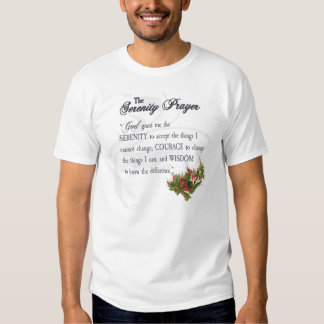The Serenity Prayer Shirt