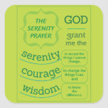 The Serenity Prayer Sticker