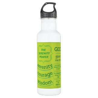 The Serenity Prayer Water Bottle