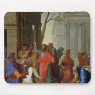 The Sermon of St. Paul at Ephesus, 1649 Mouse Pad