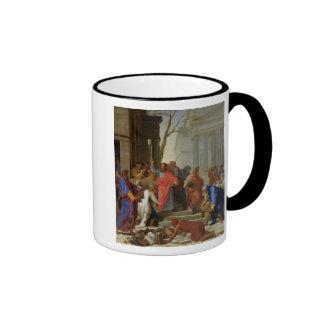 The Sermon of St. Paul at Ephesus, 1649 Coffee Mugs
