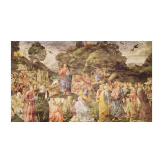 The Sermon on the Mount, from the Sistine Canvas Print