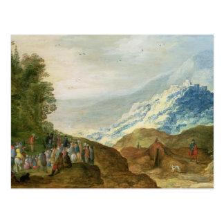 The Sermon on the Mount Postcard