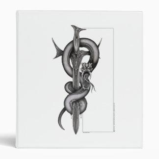 The Serpent & the Sword Vinyl Binder